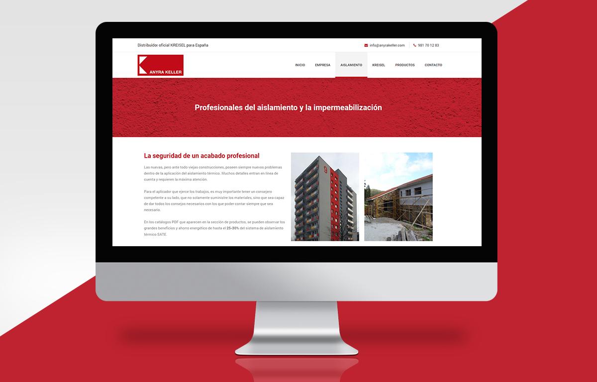 Diseño web Anyra Keller Carballo