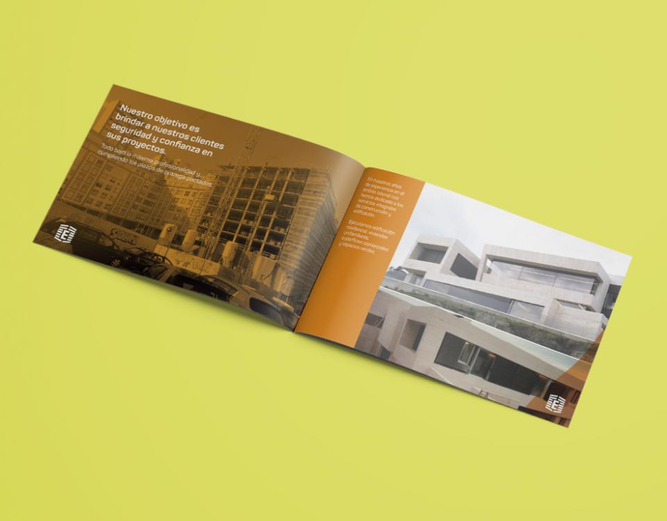 Diseño de dossier de empresa A Coruña