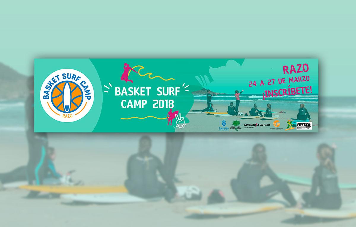 Banner Basket Surf Camp