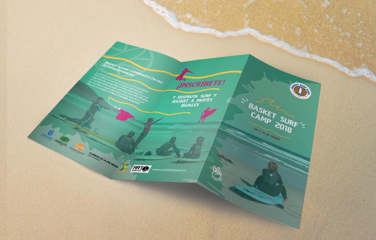 Basket Surf Camp Razo Carballo realizado en ArtsurfCamp